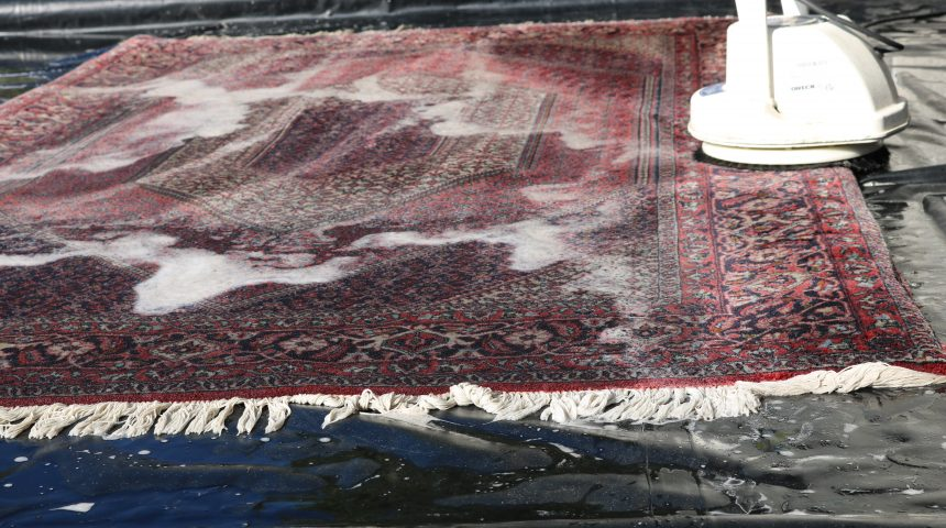 Important Steps In Rug Cleaning